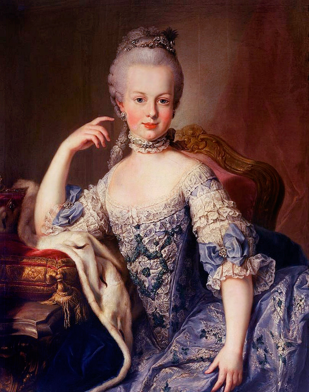 Retrato de Maria Antoineta de Martin van Meytens
