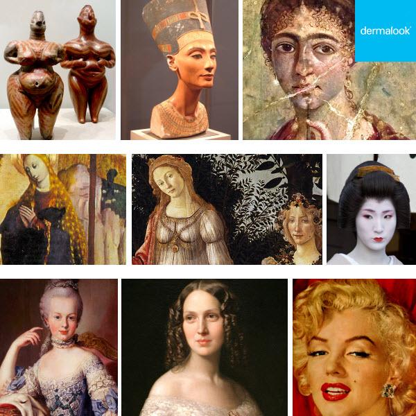 Historia del maquillaje. De los orígenes hasta la optocosmética actual.
