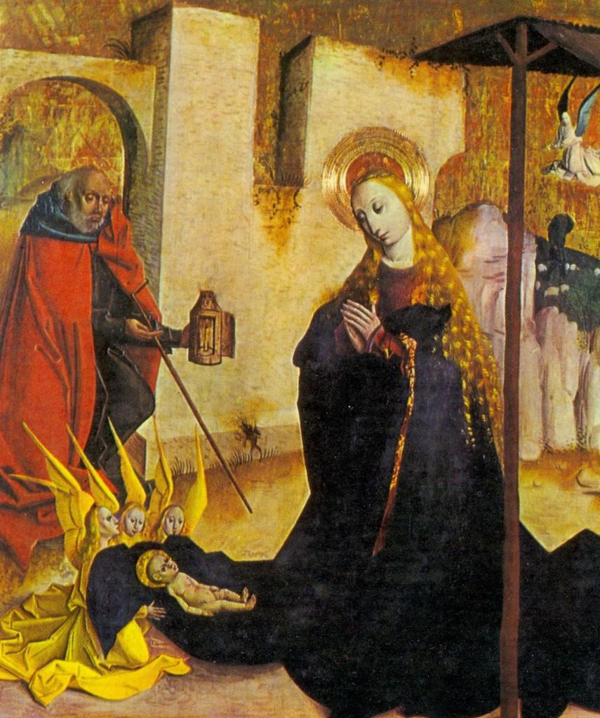Natividad. Artista anónimo.