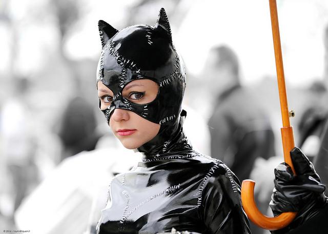 Tutorial de Halloween: maquillaje de ojos de gato