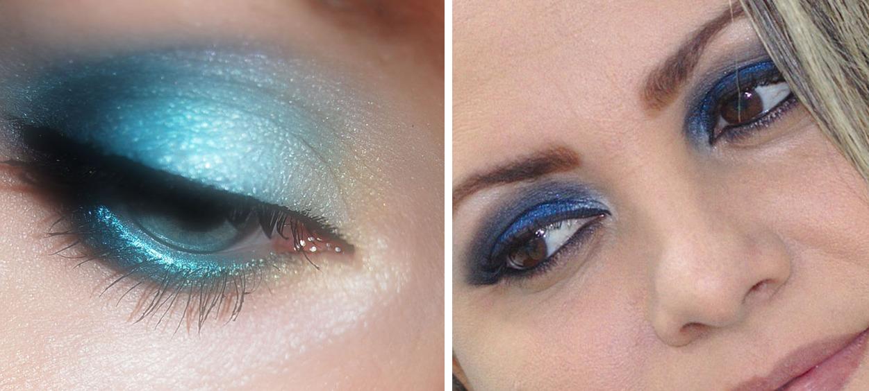 Tonos de sombra a evitar en ojos azules